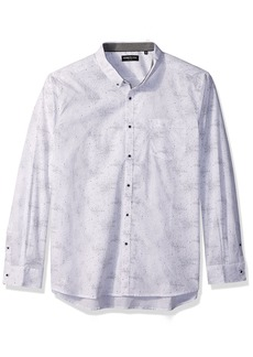 Kenneth Cole New York Men's Stars Print Shirt
