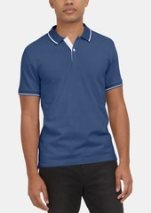 Kenneth Cole New York Men's Stretch Tipped Polo