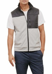 Kenneth Cole New York Men's Techy Fleece Vest