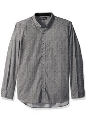 Kenneth Cole New York Men's Texture Print Shirt