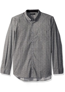 Kenneth Cole New York Men's Texture Print Shirt