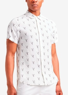 Kenneth Cole Men's Toucan Printed Shirt
