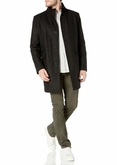 Kenneth Cole New York Men's Twill Wool Walker Jacket