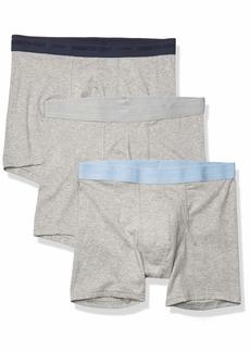 Kenneth Cole New York Men's Underwear Cotton Stretch Boxer Brief Multipack  M