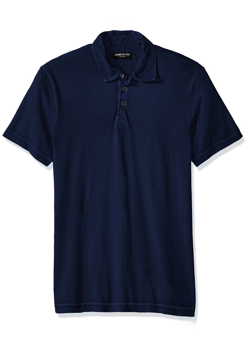 Kenneth Cole New York Men's Washed Polo Shirt