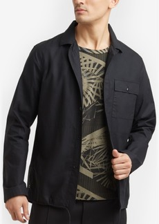 Kenneth Cole New York Men's Zip-Up Shirt Jacket