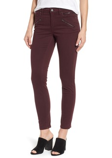 Kenneth Cole New York Moto Skinny Jeans (Port)