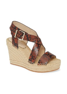 Kenneth Cole New York Olivia Espadrille Wedge Platform Sandal (Women)
