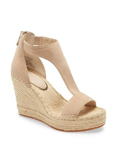 Kenneth Cole New York Olivia T-Strap Wedge Sandal (Women)