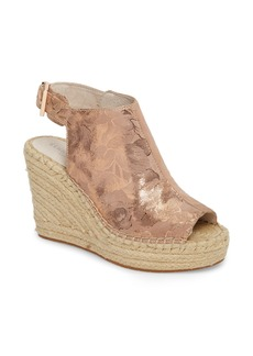 Kenneth Cole New York 'Olivia' Wedge Sandal (Women)
