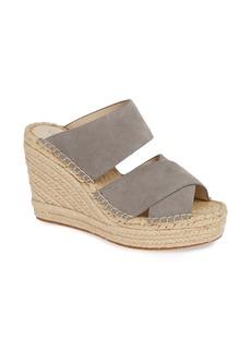 Kenneth Cole New York Olivia Wedge Slide Sandal (Women)
