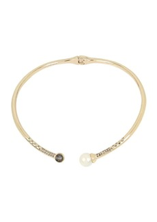 Kenneth Cole New York Pearl, Diamond and Crystal Collar Necklace