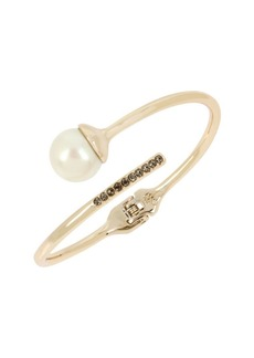 Kenneth Cole New York Pearl, Diamond and Crystal Cuff Bracelet