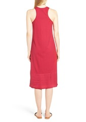Kenneth Cole New York Pompom Trim Tank Dress