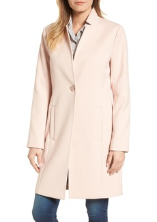 Kenneth Cole New York Ponte Knit Duster Jacket