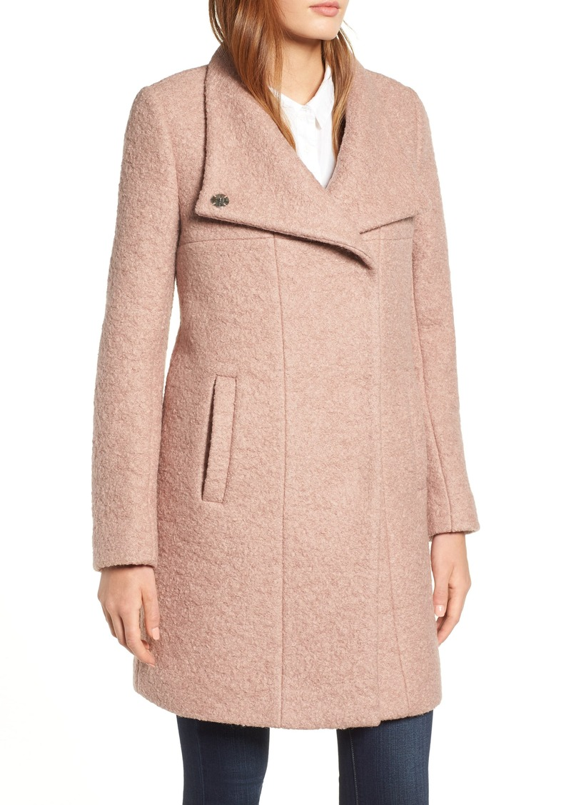 b084aaf719e80 On Sale today! Kenneth Cole Kenneth Cole New York Pressed Bouclé Coat