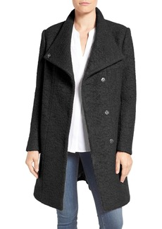 Kenneth Cole New York Pressed Bouclé Coat