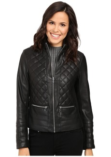 Kenneth Cole New York Quilted Rebel Jacket