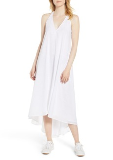 Kenneth Cole New York Racerback Twist High/Low Hem Dress