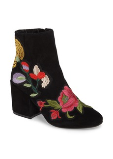Kenneth Cole New York Reeve 4 Floral Appliqué Bootie (Women)