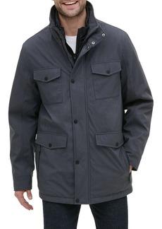 Kenneth Cole New York Regular-Fit Melange Coat