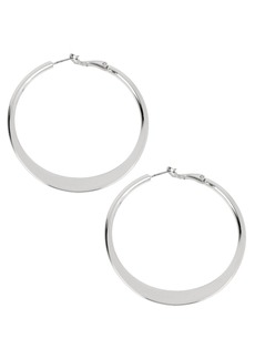 Kenneth Cole New York Sculptural Hoop Earring