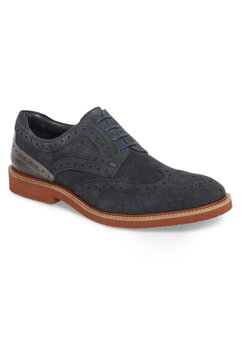 Kenneth Cole New York Shaw Perforated Wingtip Derby (Men)