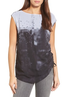 Kenneth Cole New York Side Tie Tee