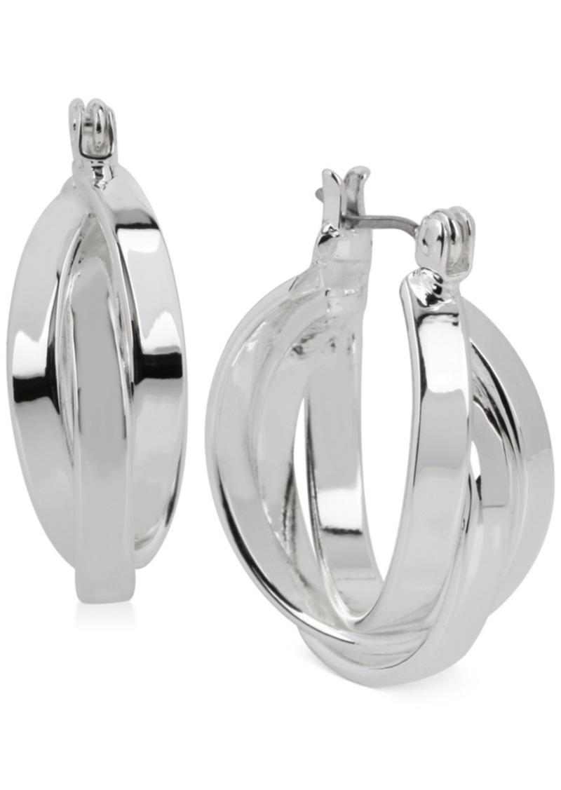 Kenneth Cole New York Multi Row Small Hoop Earrings