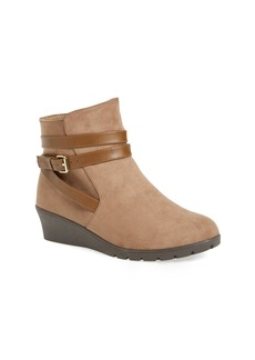 Kenneth Cole New York 'Simona' Wrapped Wedge Bootie (Little Kid & Big Kid)
