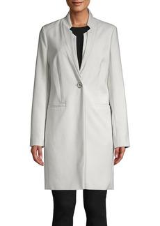 Kenneth Cole New York Single-Breasted Notch-Neck Jacket