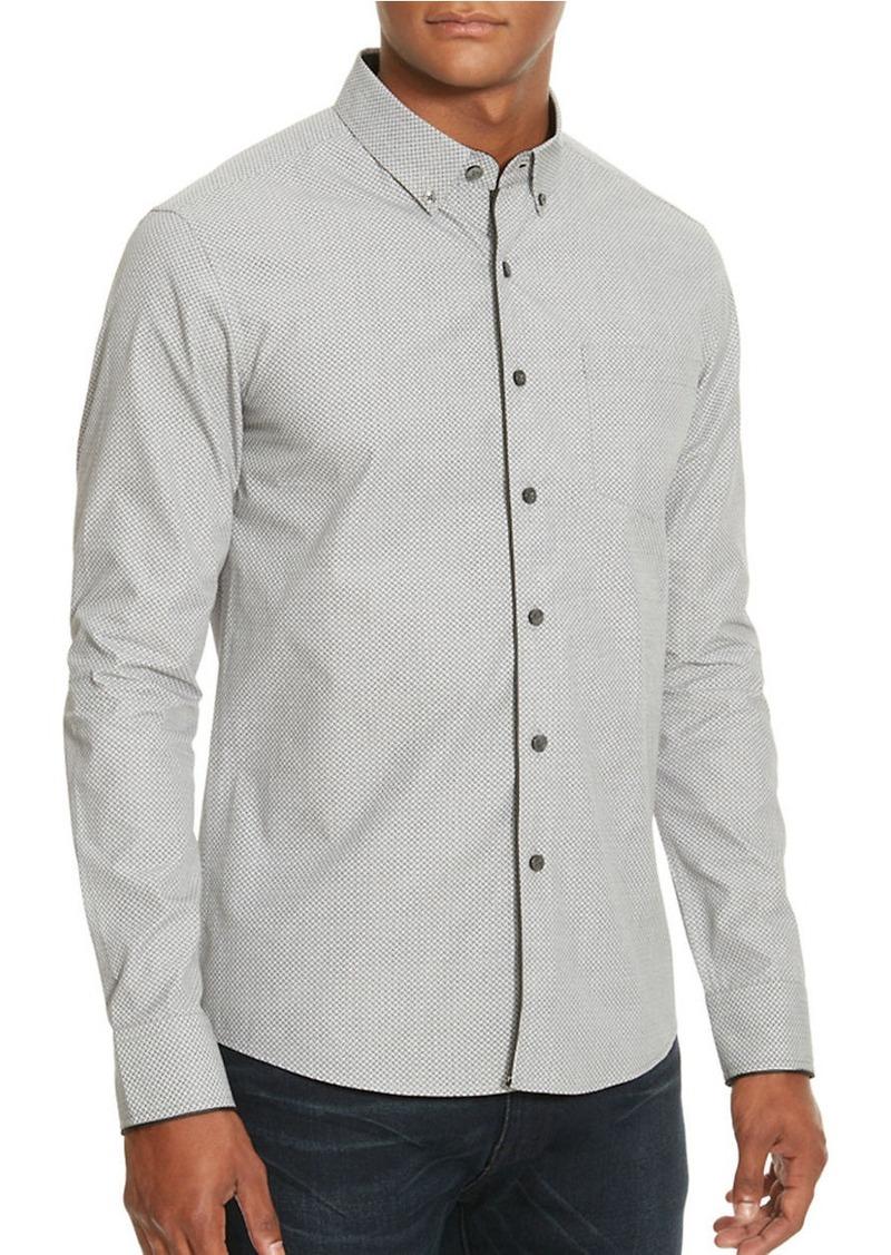 KENNETH COLE NEW YORK Slim Bow Tie Print Shirt
