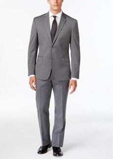 Kenneth Cole New York Slim-Fit Performance Gray Suit