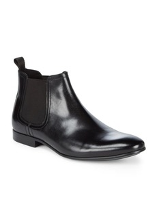 Kenneth Cole New York Slip-On Leather Chelsea Boots