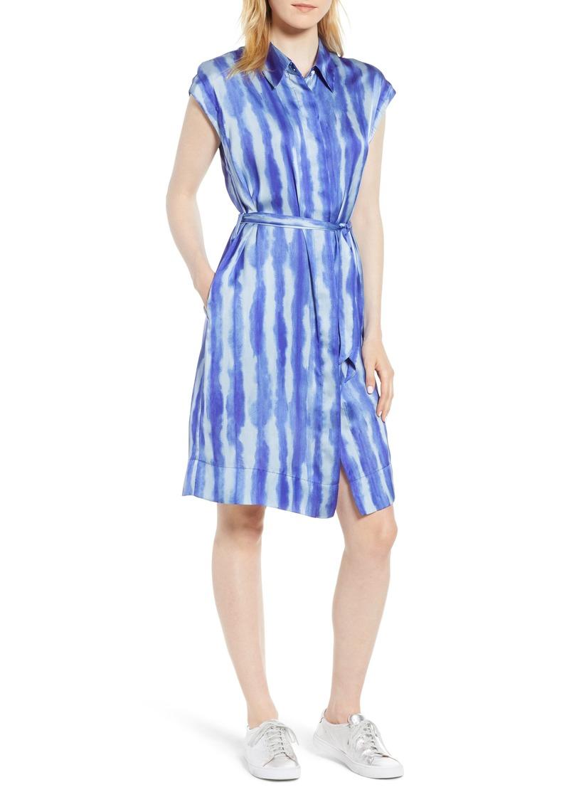 Kenneth Cole New York Stripe Shirtdress