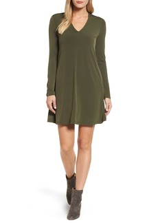 Kenneth Cole New York V-Neck A-Line Dress