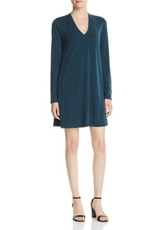 Kenneth Cole New York V-Neck Shift Dress