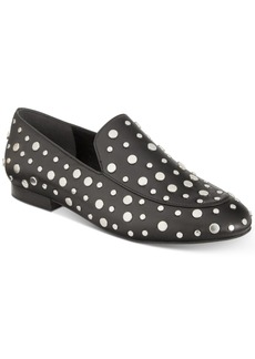 Kenneth Cole New York Westley Studded Smoking Flats Women's Shoes