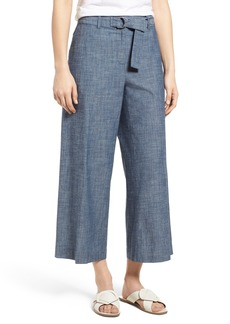 Kenneth Cole New York Wide Leg Crop Pants