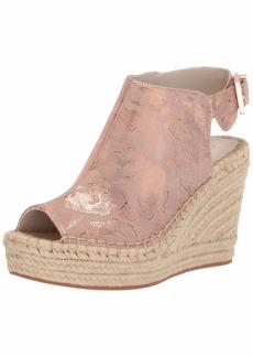 Kenneth Cole New York Women's 7 Olivia Espadrille Wedge Sandal   Medium US