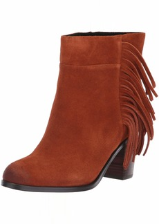 Kenneth Cole New York Women's Alana Fringe Ankle Bootie Boot  8.5 M US