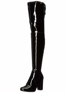 Kenneth Cole New York Women's Angelica Thigh-High Heeled Boot Over The Knee   M US