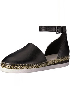 Kenneth Cole New York Women's Babbot Sporty Low Wedge Espadrille with Ankle Strap Sandal   M US