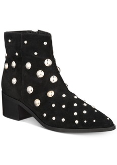 Kenneth Cole New York Women's Barton Pearl Studded Booties Women's Shoes