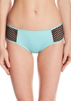 Kenneth Cole New York Women's Beat of the Street Cheeky Hipster Bikini Bottom  M