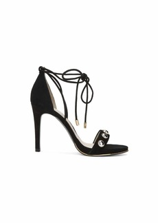 Kenneth Cole New York Women's Berry Stud Ankle-Laceup Stilleto Dress Sandal Heeled
