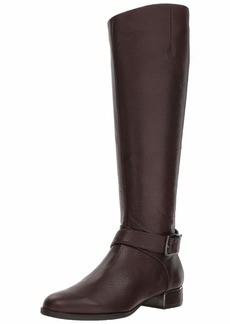 Kenneth Cole New York Women's Branden Riding Boot with Buckle Equestrian   M US