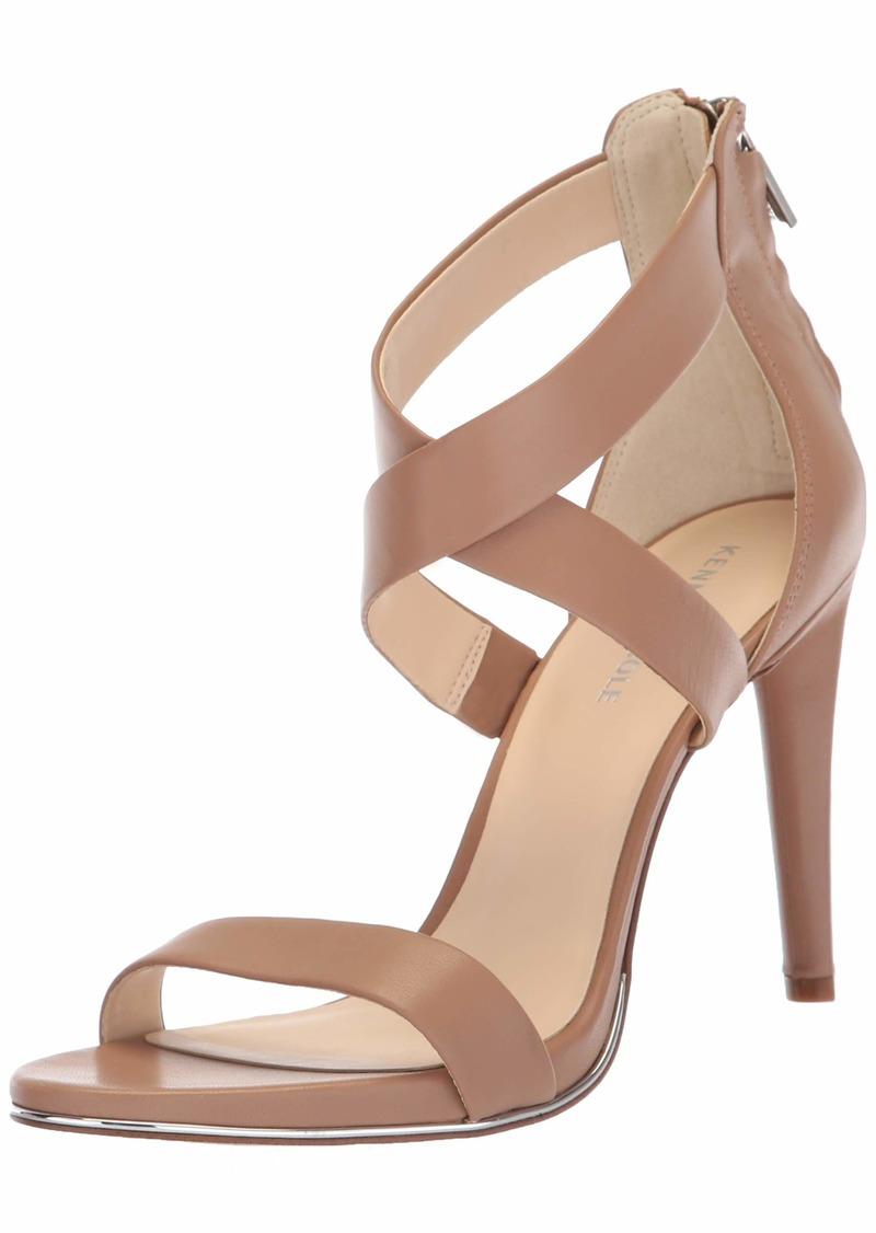 Kenneth Cole New York Women's Brooke Cross Strap Dress Sandal Heeled   M US