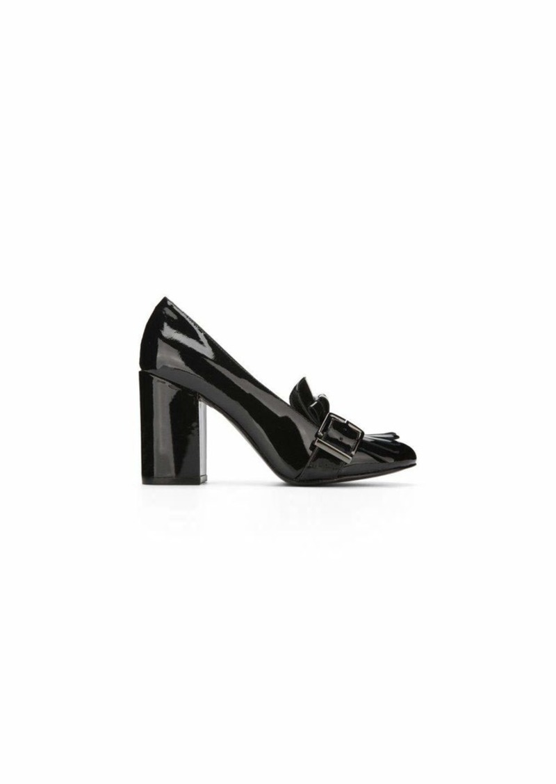 Kenneth Cole New York Women's Cambrie Dress Pump with Kiltie Toe Patent Slide   M US