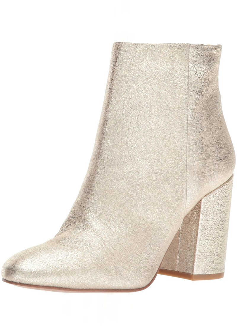 Kenneth Cole New York Women's Caylee Dress Bootie with Block Heel Leather Ankle   M US